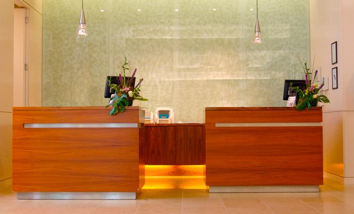 Bespoke Hotel Reception Desk